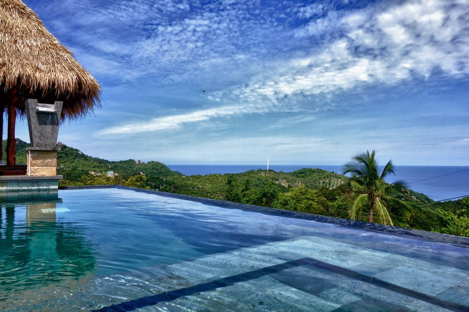 View from the terrasse - Horizon luxury pool villas Koh Tao